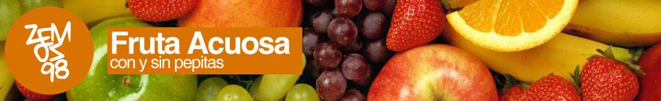 Fruta Acuosa con y sin pepitas