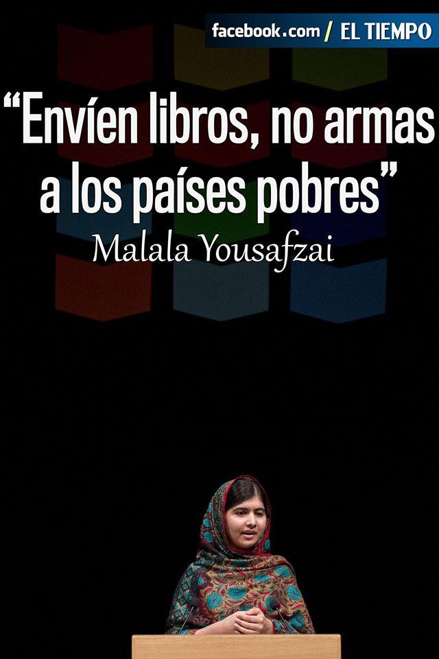 17 Frases Y 17 Años Malala Premio Nobel De La Paz La
